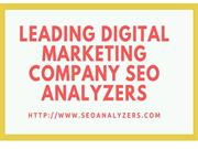 SEO Company Chennai - SEO Analyzer New
