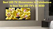 Best LED TV Showroom in Coimbatore to buy top led tv in 2020