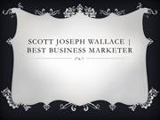 Scott Joseph Wallace | Joe Wallace