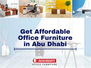 Get Affordable Office Furniture in Abu Dhabi