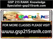 GSP 215 RANK Knowledge Specialist--gsp215rank.com