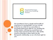 Psychotherapy Rooms to Rent-pacexeter