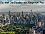 New York City Population and Important Facts