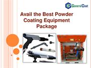 Avail the Best Powder Coating Equipment Package