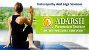 Best diploma in naturopathy and yoga sciences course in pune