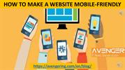 HOW TO MAKE A WEBSITE MOBILE-FRIENDLY