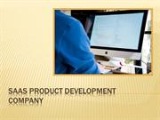 SaaS Product Development Company