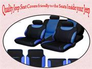 Quality jeep seat covers friendly to the seats inside your Jeep