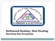 Get the Best Heating Services with Richmond Heating