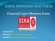 Charcoal Layer Memory Foam Mattress