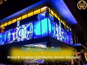 Indoor & Outdoor LED Display Screen Solution- The LED Studio