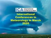 International Conferences in Meteorology in March 2020