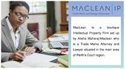 Intellectual Property Lawyers in Sydney | Maclean IP