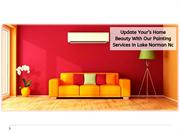 Update Your Home Beauty With Our Painting Services In Lake Norman Nc