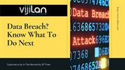 Data Breach: How to deal with it?