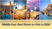 Top Places to Visit in Middle East