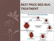 Non-toxic therapy for bed bug treatment Chicago