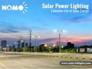 Solar Power Lighting - Extensive Use of Solar Energy