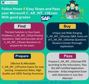 SAP - C_AR_INT_13 Dumps PDF Questions for Instant Success