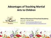 child care Covina, CA - Advantages of Teaching Martial Arts to Childre