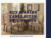 Get the Classic and Elegant Dinning table sets