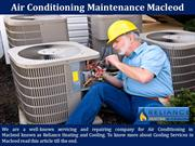 Air Conditioning Maintenance Macleod