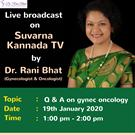 Dr. Rani Bhat - Best Gynecologist and Oncologist in Bangalore