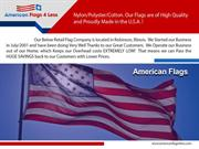 American Made Flag Pole