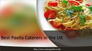 Best Paella Caterers in the UK