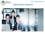 Degree Colleges in Bangalore - IBMR IBS