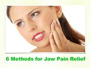 6 Methods for Jaw Pain Relief | Dentist Kallangur