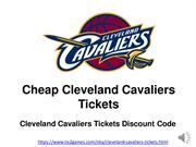 Cheapest Cleveland Cavaliers Tickets