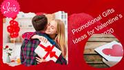 Promotional Gifts Ideas for Valentine's Day 2020