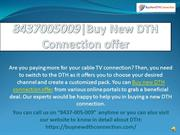 8437005009 |Buy New DTH Connection offer | Get40% Off All DTH Packages