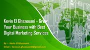 Kevin_El_Ghazouani Help You Entice Competent Clients Together With Cre
