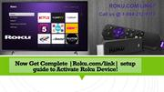 Use Roku.com/Link to Activate Your Roku Streaming  Device