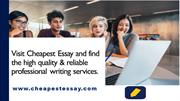Best Essay Writing Service | Essay Help Online | Cheapest Essay