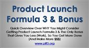 Product Launch Formula 3