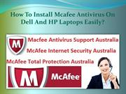 How To Install Mcafee Antivirus On Dell And HP Laptops Easily