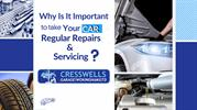 Why is it important to take your car for regular repairs and servicing