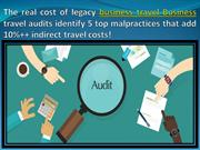 The real cost of legacy business travel Business