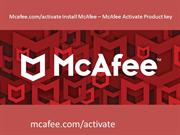 Mcafee.com/activate Install McAfee – McAfee Activate Product key