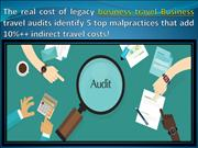 The real cost of legacy business travel Business PDF