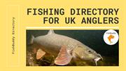 Fishing Directory Website for Listings & Fishing Tackle Shop