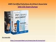 2020 Real Amazon SAA-C01 Dumps PDF - SAA-C01 Exam Questions Answers