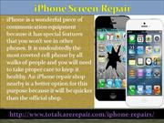 Go for iPhone Screen Replacement Shop near you to save costs from Appl