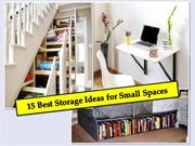 15 Best Storage Ideas for Small Spaces   91-9717473118