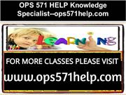OPS 571 HELP Knowledge Specialist--ops571help.com