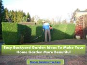 Easy Backyard Garden Ideas To Make Your Home Garden More Beautiful
