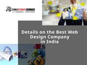 Details on the Best Web Design Company in India